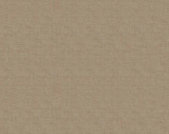 By The HALF YARD - Scandi 2 by The Henley Studio for Makower UK, Pattern #L1473-S6S Linen Texture, Taupe
