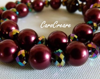 Red Necklace for glittering moments