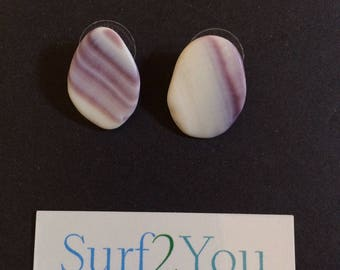 Wampum Shell Earrings
