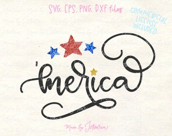 merica svg, 4th of July Svg, Patriotic Svg, fourth of july svg, independence svg, svg files, svg files for cricut, cricut designs, stars svg