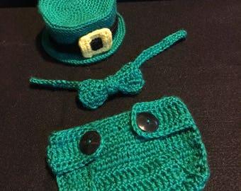 Leprechaun Newborn Prop Costume
