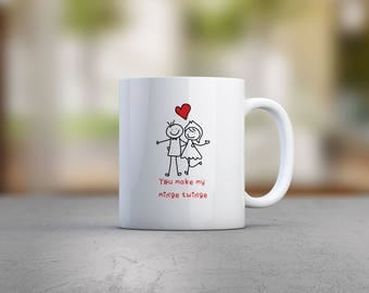 You Make My Minge Twinge Mug