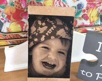 Personalised Picture Phone Holder