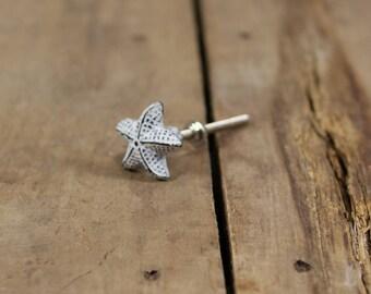 Cast Iron Starfish Drawer Pull Knob