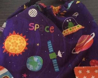 towel elastic space pattern