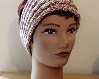 Headband / earmuffs, warm and cozy 100% cotton