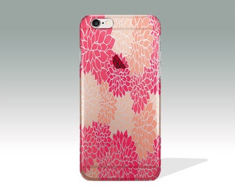 Mother Day's Gift iPhone 7 Plus Case Floral iPhone 7 Case Silicone Birthday Gift iPhone 6 Plus Case iPhone 7 Case Floral iPhone 6 Case //279