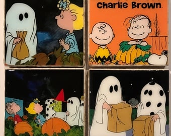 It's the Great Pumpkin Charlie Brown Coasters