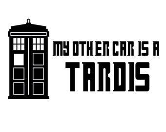 Tardis Car Decal