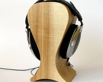 The best headphones friendly Wooden stand of Ash