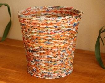 Original paper basket made of paper