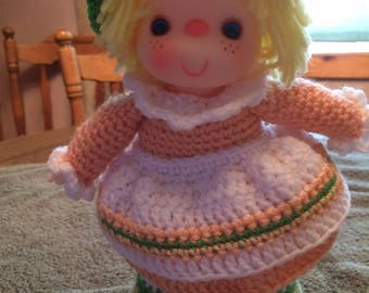 Peach Cobbler Doll Pattern
