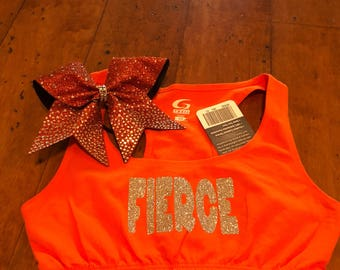 Orange FIERCE set in Adult Extra Small
