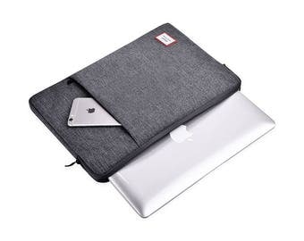 "Macbook Air Sleeve 11 Inch, Macbook 12 Inch Case, iPad Pro 12.9"" Case, Macbook 12 Sleeve, Laptop Sleeve DarkGrey"