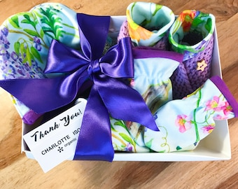 Boho Baby Clothes Peacock Baby Gift Set Baby Girl Clothes Ultra Violet Baby Trousers