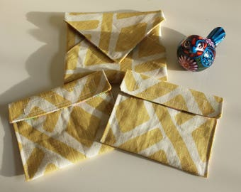 Eco-Friendly Reusable Sandwich Wrap and Snack Packs Set