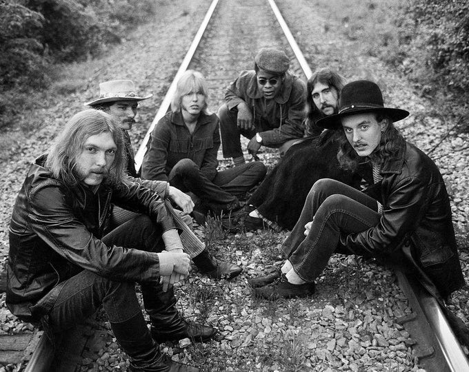 The Allman Brothers Band Southern Rock Pioneers - 5X7, 8X10 or 11X14 Publicity Photo (ZY-938)