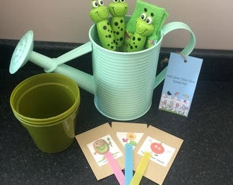 Personalised Childrens Gardening Grow Kit