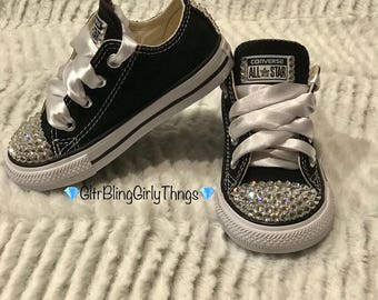 Blinged Out Converse Toddler/Kids