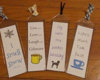 Gilmore Girl Bookmarks - Digital Copy