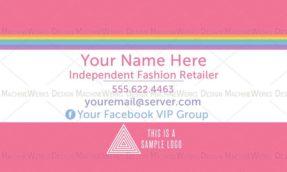 LLR Business Card or Referral Sticker • Home Office Compliant ...