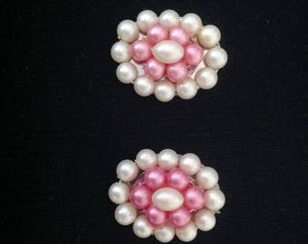 1960s Vintage Ladies Earrings