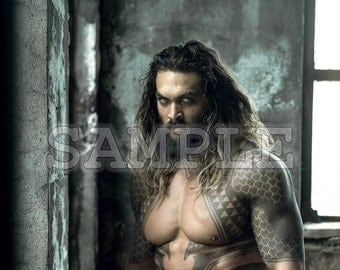 Jason Momoa 13x19 Poster Print - Great Gift Idea! - Ready to Frame and Display!