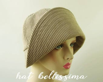 SALE gray 1920's  Hat Vintage Style hat winter Hats hatbellissima ladies hats millinery hats