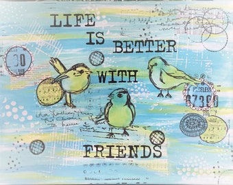 Canvas - Life is Better with Friends