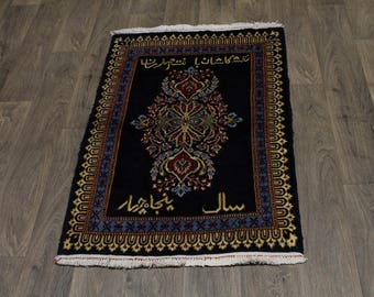 3X4 Excellent Extra KPSI Unique Kashan Persian Area Rug Oriental Carpet 2ʹ6X3ʹ8