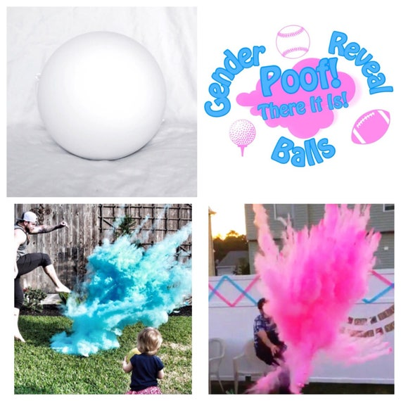 SOCCER BALL Gender Reveal Ball Pack (Custom Combinations)