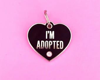 I'm Adopted Pet Charm