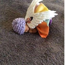 Baby Angel multicolor Fimo