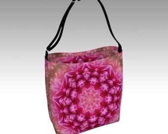 Pink Tote, Tote Bag, Beach Bag, Grocery Bag, Day Tote, Market Tote, Book Bag, Shopping Bag, Farmer's Market Tote, Travel Bag, Shoulder Bag