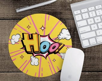 HOT SALE Mouse pad desk accessories printed mousemat office gift round mousepad computer accessories fancy mouse pad MP-30