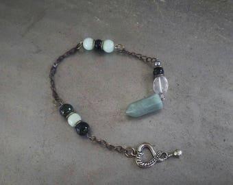 Aventurine Crystal Pendulum/ Dowsing Pendulum/ Heart Chakra Stone