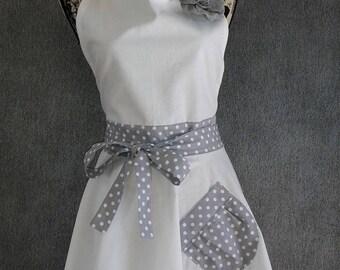 vintage or retro woman apron