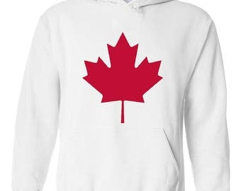 Canada Toronto Maple Leafs Proud Canadian Vancouver Guide Map Flag Gift Unisex Hoodie Sweatshirt