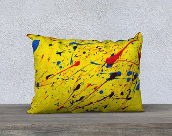 "Dance of comets 14 ""x 20"" pillow cover"