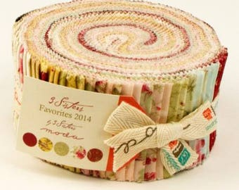 3 Sisters Favorites 2014 Jelly Roll - Moda