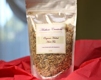 Organic Herbal Hair Tea