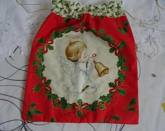 Christmas Angel pattern bag