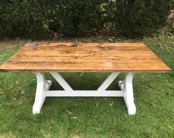 rustic farm table farmhouse table dining room table custom tables custom farm