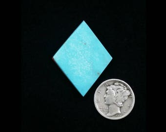 Natural Nevada Turquoise, 15 carats, 26x33x3.3mm
