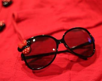 Womens Oversized Disney Minnie Mouse Sunglasses