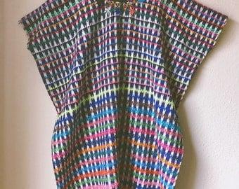 Vintage Hand Embroidered Kaftan Dress