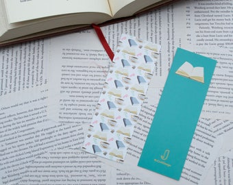 Book Pattern Bookmarks