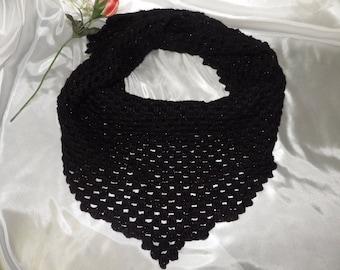Black Sparkle Shawl/Wrap