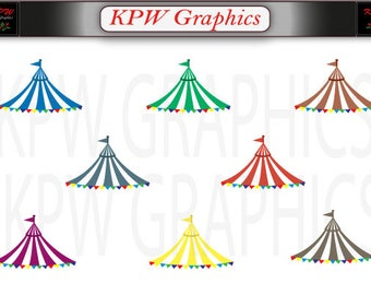 Circus Carnival Tent Canopy Set 4 (various colours) in PNG (300ppi) format  sc 1 st  Etsy & Circus canopy | Etsy