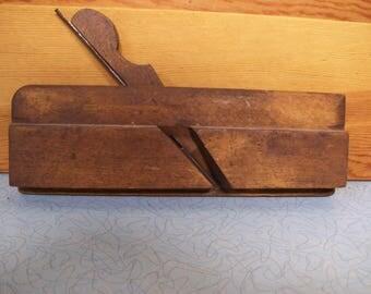 Vintage wood trim plane